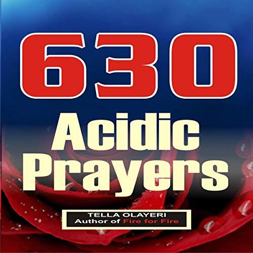 630 Acidic Prayers audiobook cover art