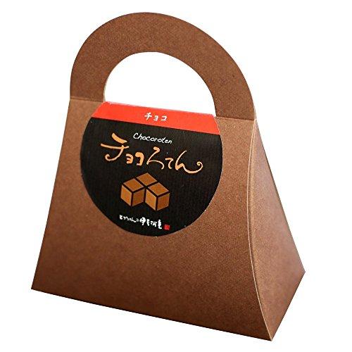 伊豆河童 チョコろてん ダブルチョコ味 (カカオ入り角心太95g チョコソース12.5g×2 珈琲フレッシュ5g)1個 ホワイトデー 向け