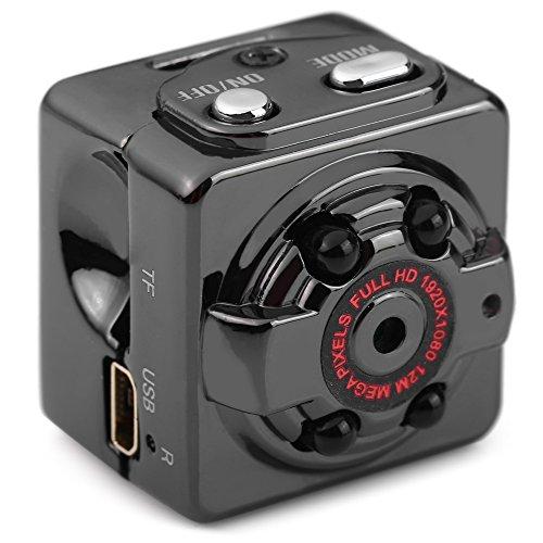 Andoer SQ8 HD 1080P 720P Sport Mini DV Camera infrarosso Digitale Piccola Fotocamere marrone
