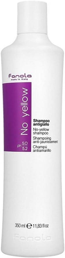 Fanola Champú NO YELLOW Antiamarillo - Especial cabellos ...