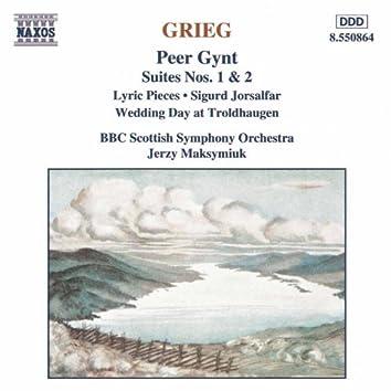 GRIEG: Peer Gynt / Lyric Pieces / Sigurd Jorsalfar