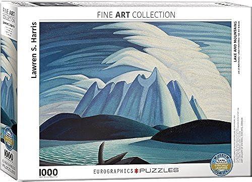 EuroGraphics Lake & Mountains Lawren Harris Puzzle (1000 Piece) by EuroGraphics