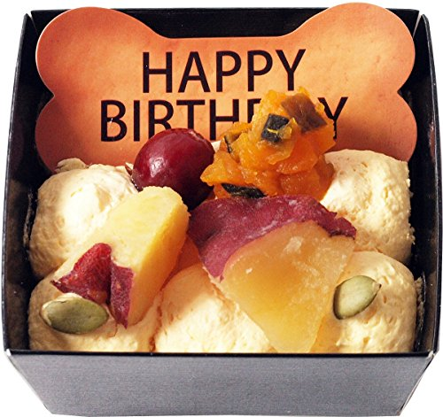 [コミフ飼い主も一緒に食べられるスイーツ]野菜のバースデーケーキペットケーキ