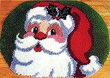 YANRUN Kit de alfombra de ganchillo para Navidad, kit de lana de...