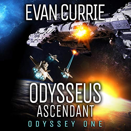 Odysseus Ascendant audiobook cover art