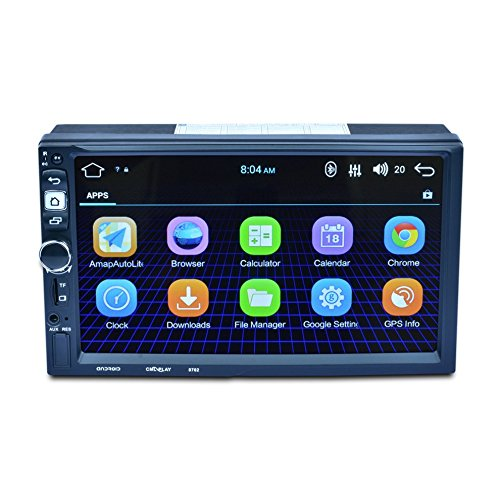 8702 HD 1080P Digital Touch Screen Car Multimedia Player per Android Mobile Phone Interconnessione GPS FM