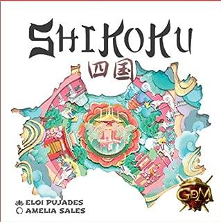 GM Games – Shikoku Card Set with Board, White (GDM GDM128)