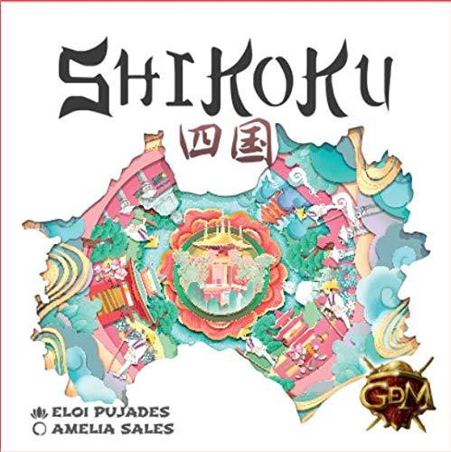 GM Games- Shikoku Juego de Cartas con Tablero, Color Blanco (GDM Games...