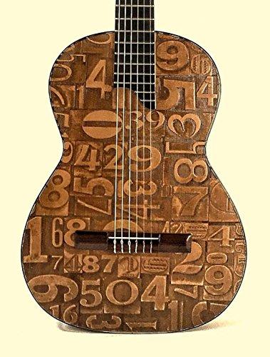 Guitarras TOLEDO TT-2CZ NÚMEROS
