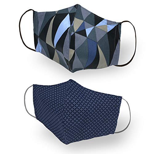 0204201952 Colore: blu navy Mascherina lavabile adattabile sanificabile Technomask CLASSIC art