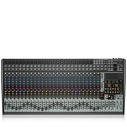 Behringer Eurodesk SX3242FX Ultra-Low Noise Design 32-Input 4-Bus Studio/Live Mixer. Buy it now for 778.99