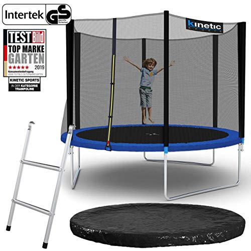 Kinetic Sports Gartentrampolin – ø 305 cm