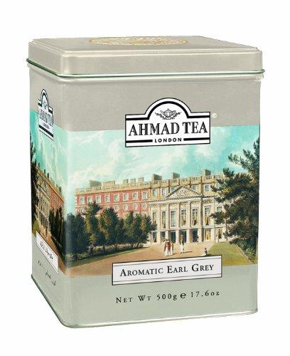 Ahmad Tea Earl Grey Aromatic Loose Tea, Ceylon Caddy, 17.6 Oz