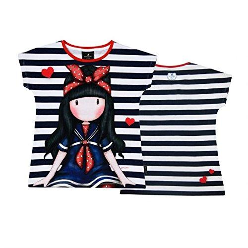 Santoro Gorjuss - Maglietta/t-Shirt (Taglia 8-10-12-14 Anni) (10 Anni)