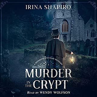 Murder in the Crypt cover art