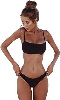 f7d08a5cf84c Elecenty Bikini🌸Costume da Bagno per Donna, Bikini Fascia a Fascia, Bikini  Push