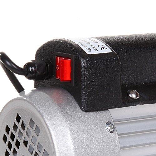 Ridgeyard pompe à vide 180W 5Pa 1/4HP 220V 50Hz 2.5CFM climatiseur pompe à vide Pump réfrigération climatisation Vacuum Pump