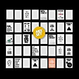 40 Postkarten im Mix Set mit lustigen Sprüchen. 20 feste Karten und 20...