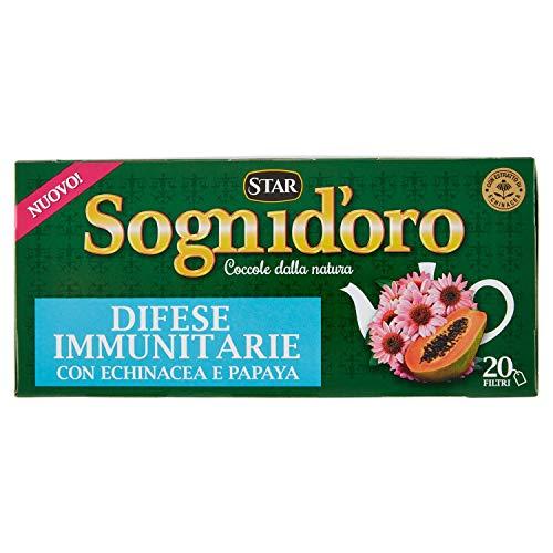 Sogni Doro Tisana Difese Immunitarie - 20 Filtri, 36 gr
