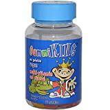KingMultivitamin and Mineral Supplement, Strawberry/Lemon/Orange/Grape/Cherry/Grapefruit, 60 Co...