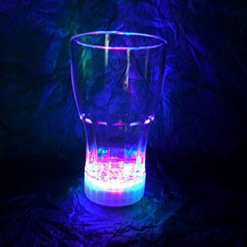 Verre à Coca Cola en plastique avec LED, pour long drink, cocktail