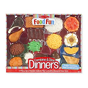 Melissa & Doug Food Fun Combine & Dine Dinners - Red - 51hZSS3ZsUL - Melissa & Doug Food Fun Combine & Dine Dinners – Red