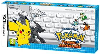 Learn with Pokémon  Typing Adventure DS  EU Import