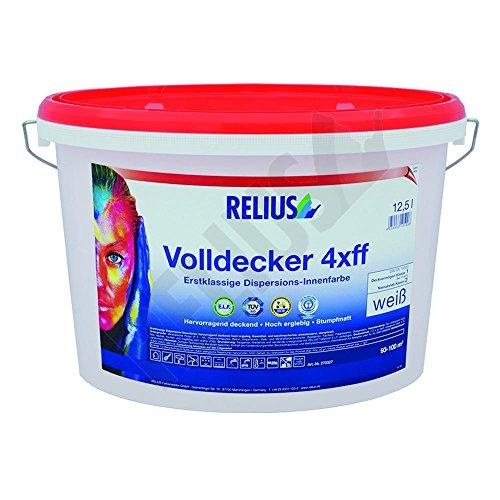 Relius Volldecker 4xff ELF, weiß, 10 Ltr.