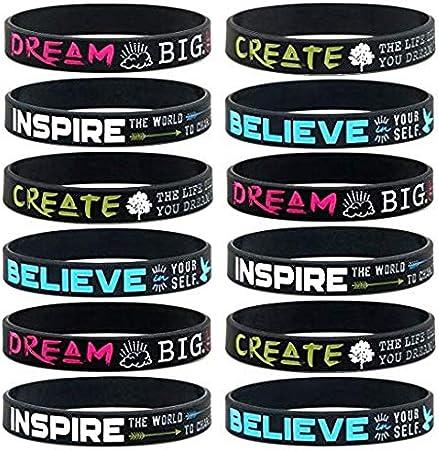 Gifts for Girls Inspirational Gift Girl Power Feminist Wish Bracelet Empowerment Bracelet Bulk Feminist Bracelet Girl Power Bracelet