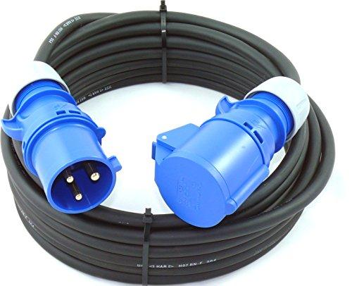 CEE Verlängerung H07RN-F 3G4 3x4 PCE 32A IP44 20m