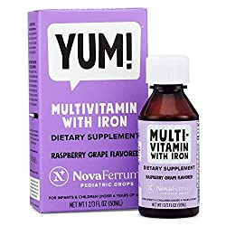 top rated NovaFerrum Infant  Toddler Multivitamin and Iron 50ml 2021