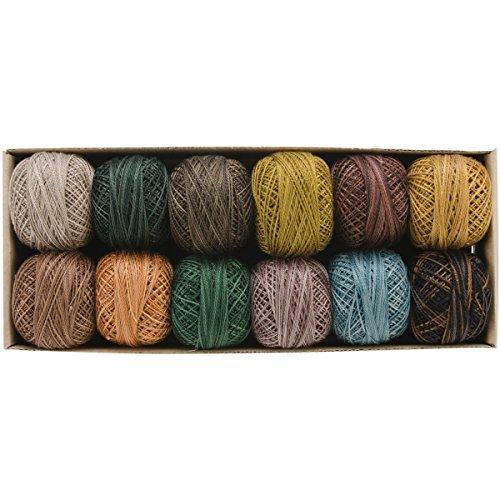 Valdani Perle algodón 12–Tesoros terrenales Color: Earthly Treasures Talla: Unic