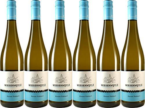 Wein & Sekt Wiesenmühle Kerner Kabinett 2020 Lieblich (6 x 0.75 l)