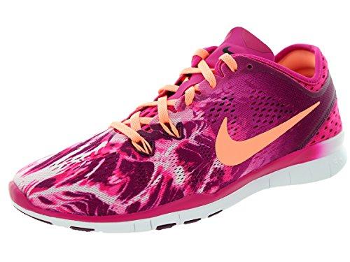Nike - Nike Wmns Free 5.0 Tr Fit 5 Prt Damen Sportschuhe Lila Textil 704695 - Lila, 36,5