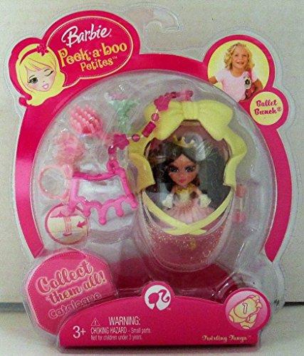Barbie Peekaboo Petites Ballet Bunch Colección - #1 Twirling Tanya