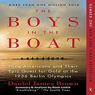 Summary & Analysis: The Boys in the Boat audiobook cover art