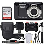 Best Kodak Cameras - Kodak PIXPRO FZ53 16.15MP Digital Camera (Black) + Review