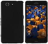 mumbi Hülle kompatibel mit Sony Xperia Z3 Compact Handy Hülle Handyhülle, schwarz