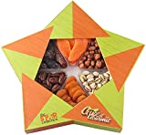 GIVE IT GOURMET, Dried Fruit Nut Gift Baskets, Holiday Fruit Nut Box, Gourmet Food Gifts, Prime Delivery Great for Birthday Christmas Mothers & Fathers Day Gift Box Assortment for Men Women (X-Large)