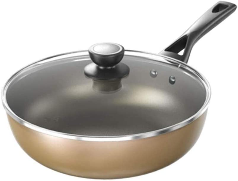UXZDX Wok - NEW before selling San Antonio Mall ☆ Non-stick Pot Household Cooking