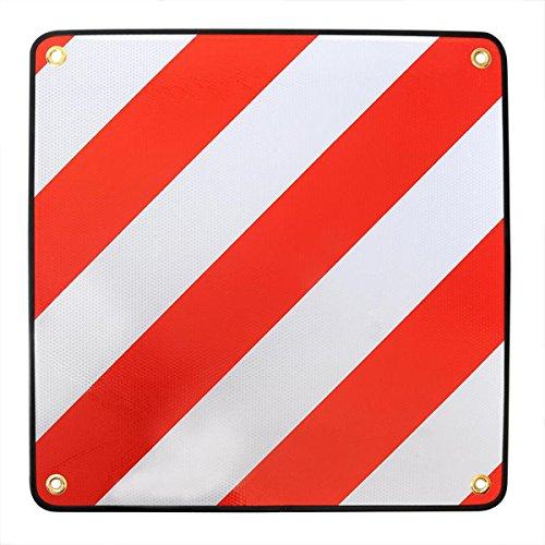 PAT Europe advertencia Italia–Portabicicletas con matrícula metallösen facilitar Fijación warnschild 50x 50cm
