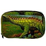 Bolsas de cosméticos prehistóricas de dinosaurio práctico neceser bolsa de viaje Oragniser bolsa de maquillaje para mujeres y niñas
