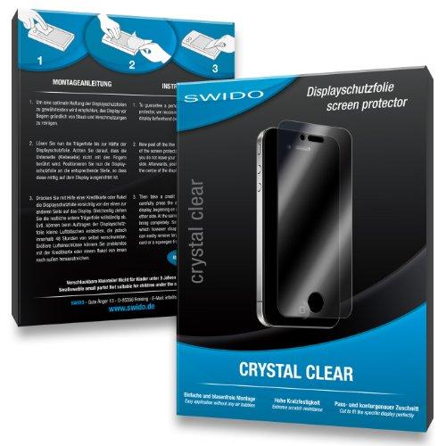 SWIDO Pellicola protettiva 3 x per Casio Exilim EX-ZR/ZR800-800, alta qualità, My, rivestimento duro, applicazione senza bolle