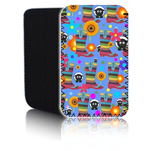 Biz-E-Bee 'Gummistiefel–Blau' (7HD) Schutz Neopren Tasche für Xiaomi Mi Pad 2–Stoßfest und wasserabweisend Abdeckung, Hülle, Tasche,–Schnell Schiff UK