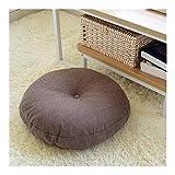 Xy Exquisite Runde Form 2 Größe Baumwolle Leinen Sitzkissen Silk Cotton Core Tatami Kissen Kissen...