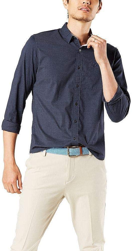 Dockers Men's Smart Storage Long Sleeve Tech Shirt