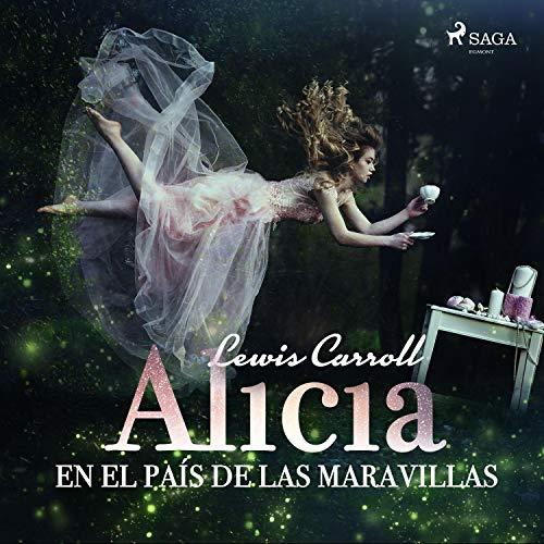 Diseño de la portada del título Alicia en el país de las maravillas
