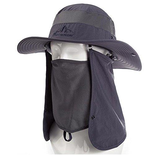 ZX Cappellini Sole Cappello Pesca UPF50 + Unisex Copricapo Pieghevole Presto Asciutto Legionario Berretto Accessori (Colore : T3)