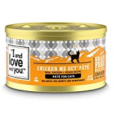 'I and love and you' Naked Essentials Canned Wet Cat Food - Grain Free, Chicken Recipe, 3-Ounce, Pack of 24 Cans
