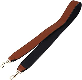 Prettyia Leather Shoulder Straps Replacement Wide Shoulder Bag Belts for Crossbody Messenger Gift